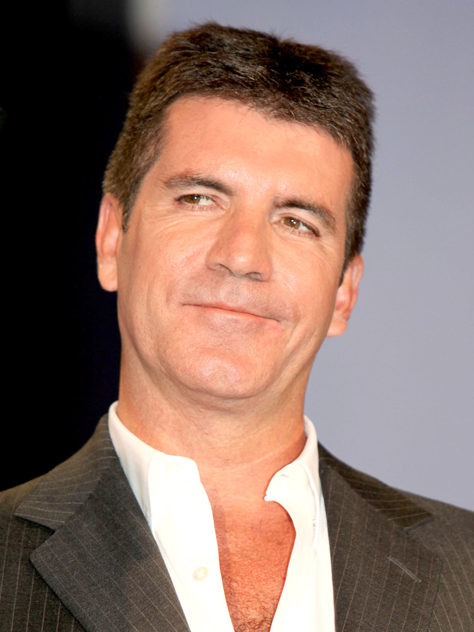 Simon Cowell avoids ettiquette effect